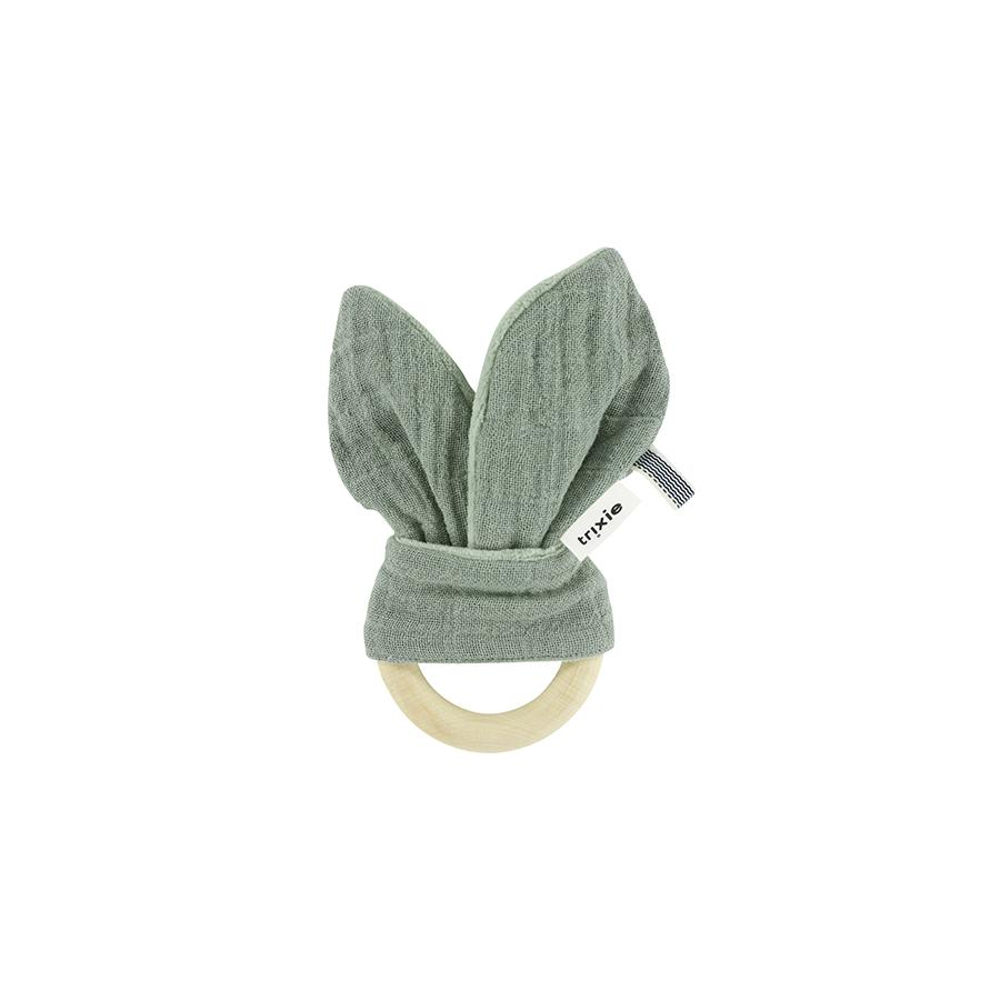 "Teething ring ""Rabbit Bliss Olive"""