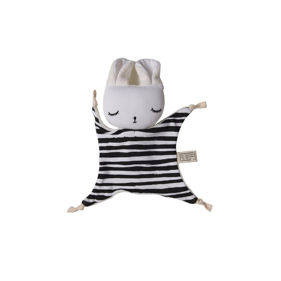 "Cuddle Cloth ""Bunny Stripes"""