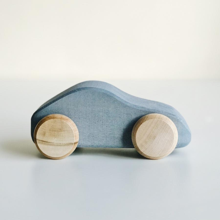 "Wooden Car ""Silver"""