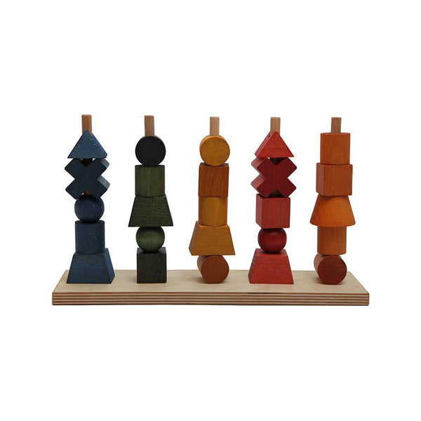 "Stacking Toy ""Rainbow"""