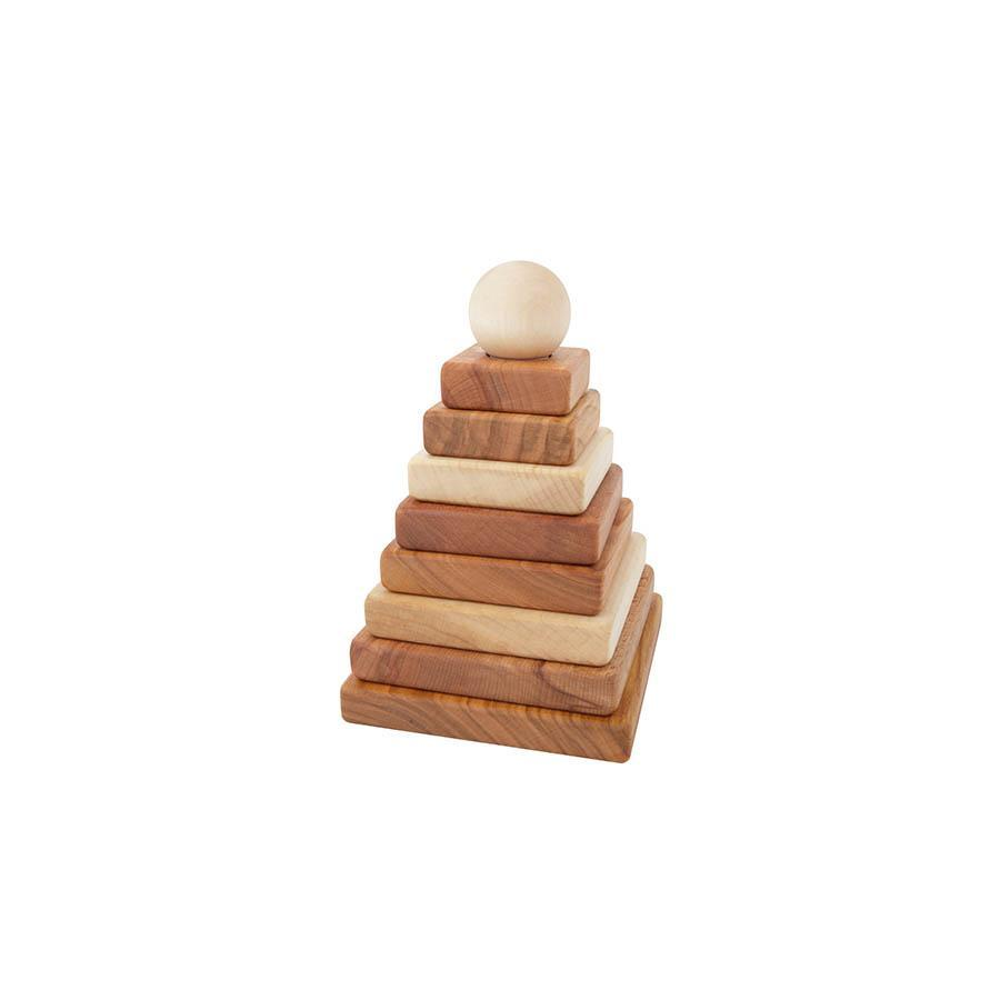 "Stacking Toy ""Natural Pyramid"""