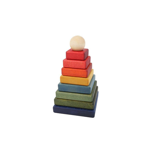 "Stacking Toy ""Rainbow Pyramid"""