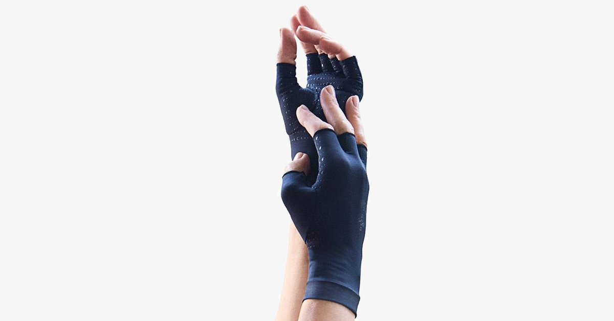Compression Half Finer Gloves For Men & Women