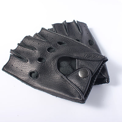The Authentic Race - Fingerless Driving Gloves