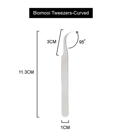 Biomooi Tweezers <br> curved