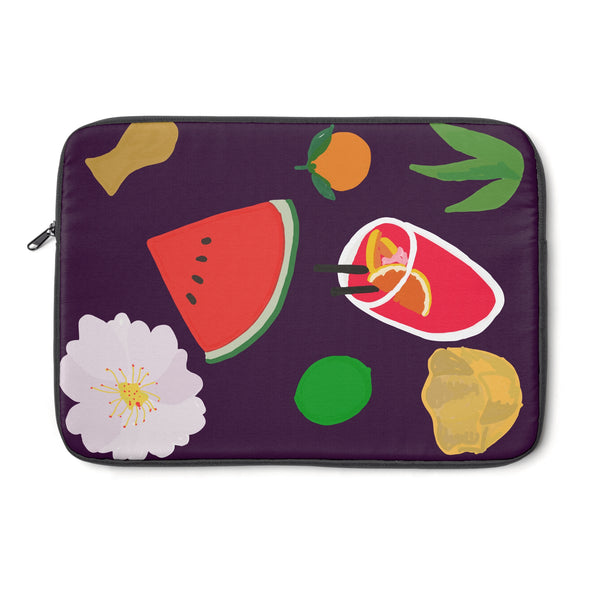 Feeling Purple Laptop Sleeve