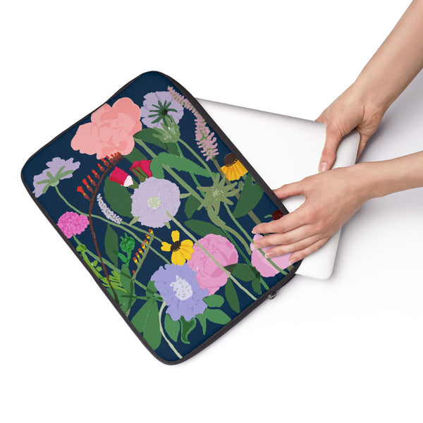 Dutch Flowers Laptop Sleeve