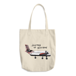 Journey to Scotland Cotton Tote Bag