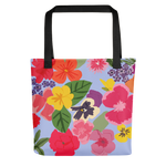 Edible Flowers Tote bag