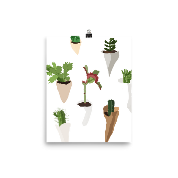 Cactuses Poster