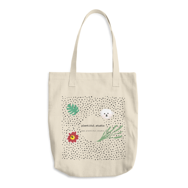 plentiful studio Cotton Tote Bag