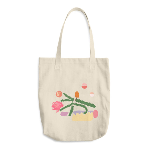 Pretty Cotton Tote Bag