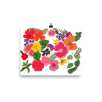 Edible flowers Poster