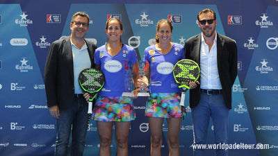 Gemma Triay and Lucía Sainz, winning pair at WPT Valladolid Open