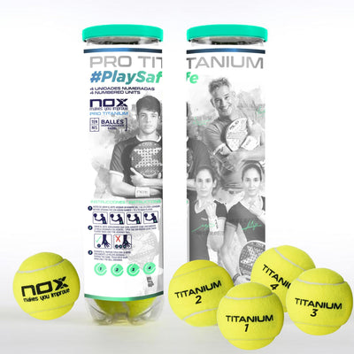 NOX launches the first padel ball format designed to avoid coronavirus transmission