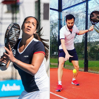 NOX renews its commitment to French padel with the renewals of Benjamin Tison and Léa Godallier