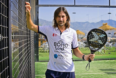 NOX AND 'THE LIGHTNING' DEMIANIUK: AN ALLIANCE TO GIVE SPEED TO INTERNATIONAL PADEL