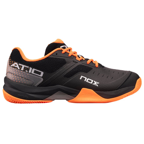 Zapatillas de pádel AT10 Negro / Naranja - NOX