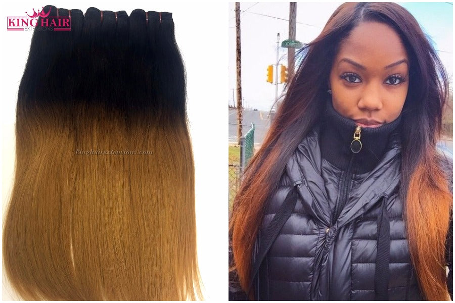 4 Dos When Dying Ombre Color Vietnam Hair Extensions