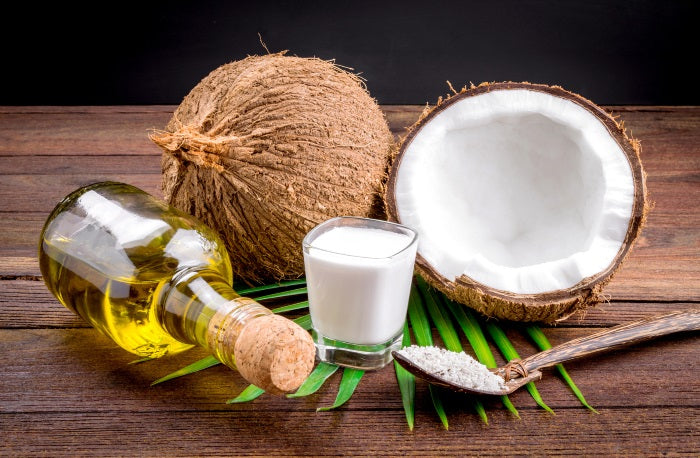 Coconut oild is really cheap and good for your hair