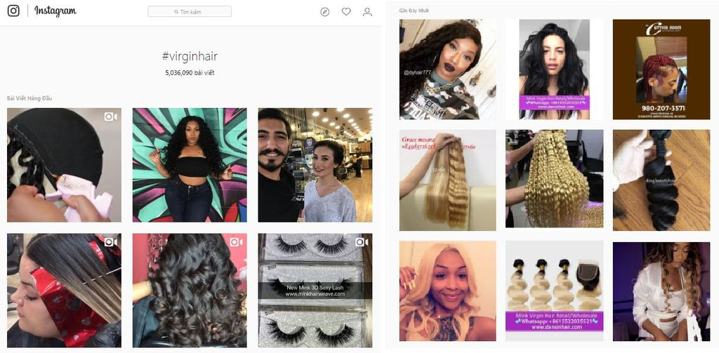 So many people sell hair extension online, and the number continue increse everyday