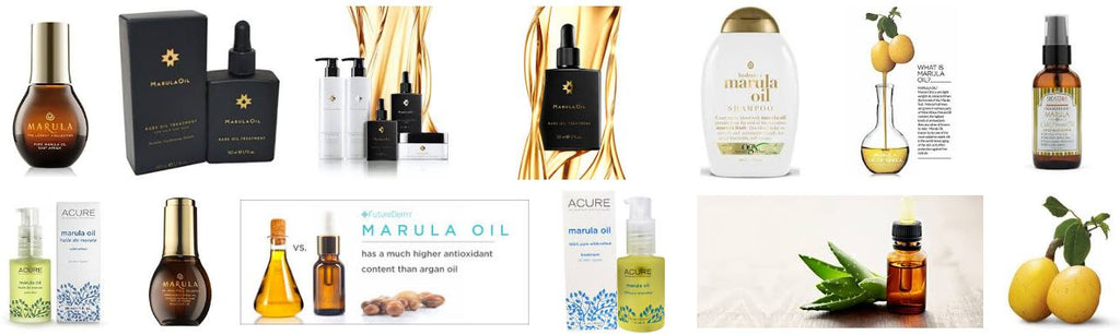 Not only for hair care, marula oil is also used for beauty and skin care