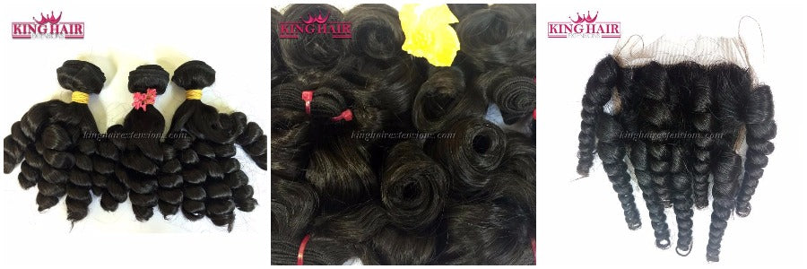 Many kind of hair extensions in King Hair