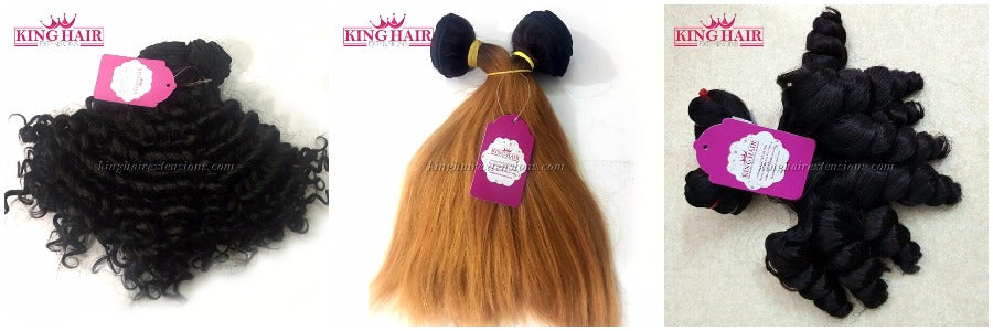 King Hair Extensions supply hair in many colors and styles