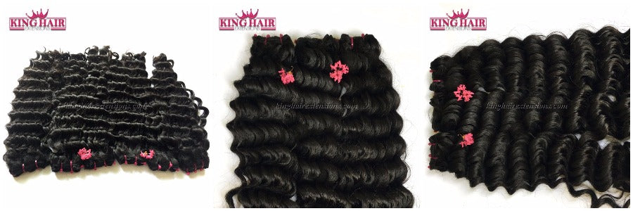 King hair extension - natural wavy hair