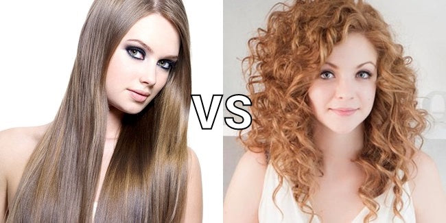 Do you like straight hair or curly hair?