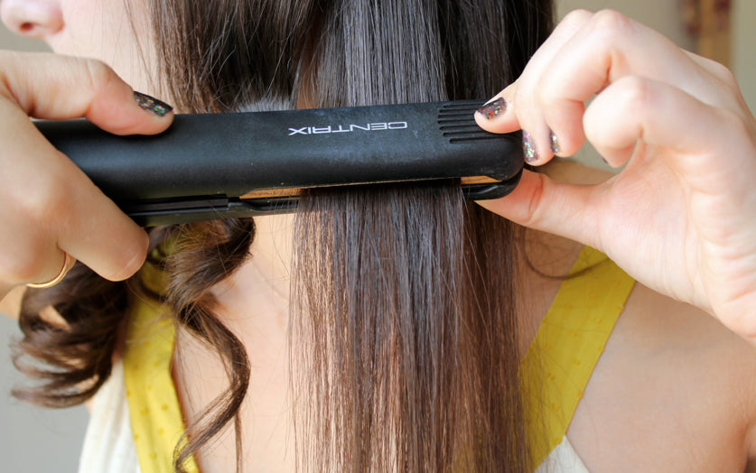 Iron flat can break your hair structure
