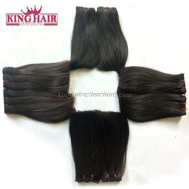 10 inch SUPER DOUBLE VIETNAMESE HAIR STRAIGHT STC3 - King Hair Extensions