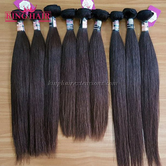 10 INCH VIETNAMESE HAIR STRAIGHT DOUBLE DRAWN