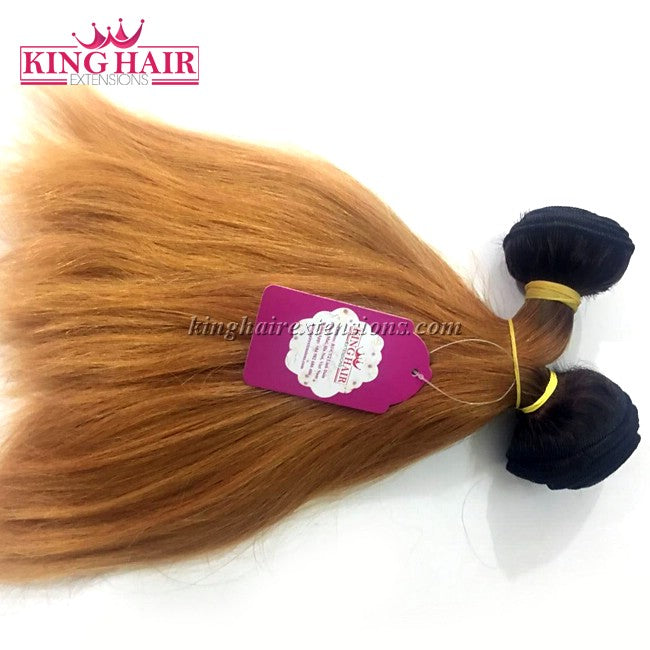 10 INCH VIETNAMESE HAIR STRAIGHT DOUBLE DRAWN - King Hair Extensions