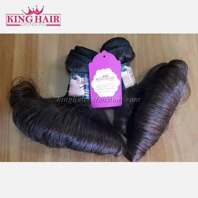 12 INCH VIETNAMESE FUNMI HAIR DOUBLE DRAWN - King Hair Extensions
