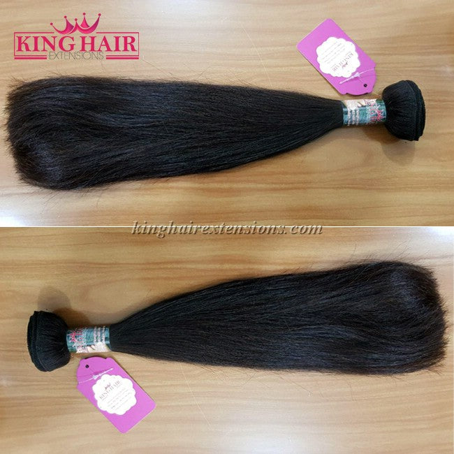 12 INCH VIETNAMESE HAIR STRAIGHT DOUBLE DRAWN - King Hair Extensions