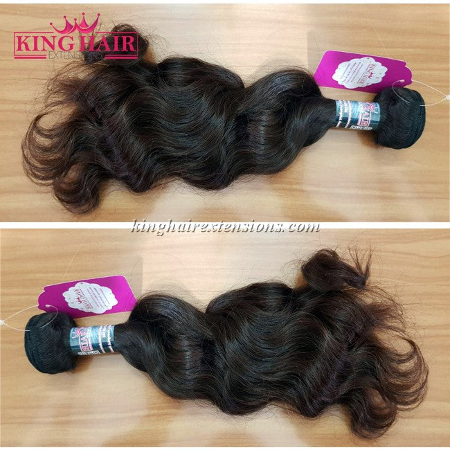 12 INCH VIETNAMESE WAVY HAIR DOUBLE DRAWN