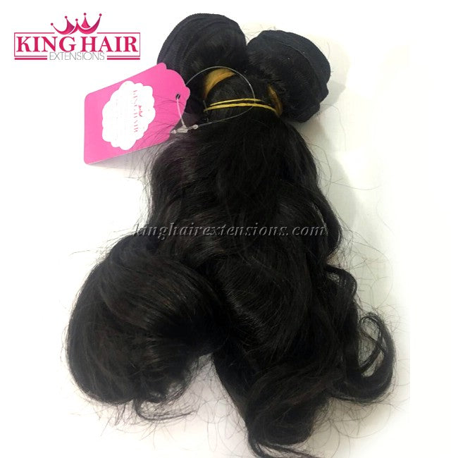 12 INCH VIETNAMESE WAVY HAIR DOUBLE DRAWN - King Hair Extensions
