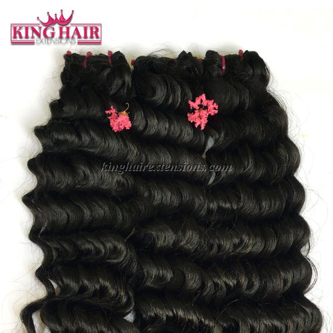 14 inch SUPER DOUBLE VIETNAMESE HAIR WAVY SW4 - King Hair Extensions