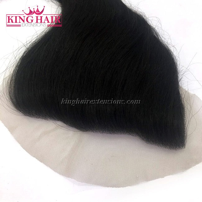 14 inch Vietnam Hair Straight Lace Closure 7x4 - King Hair Extensions