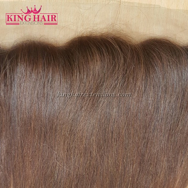 14 inch VIETNAM HAIR STRAIGHT LACE FRONTAL 13X4 - King Hair Extensions