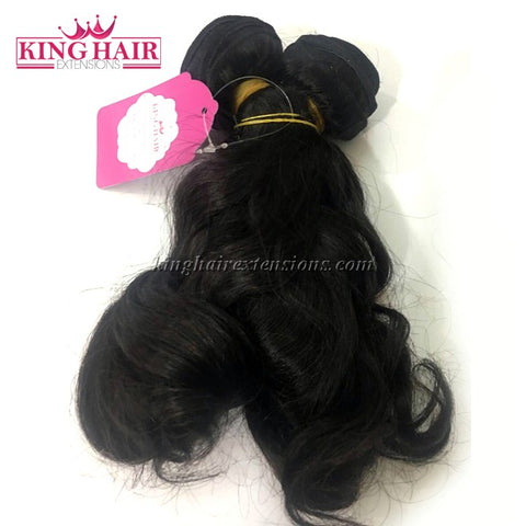 14 INCH VIETNAMESE WAVY HAIR DOUBLE DRAWN - King Hair Extensions