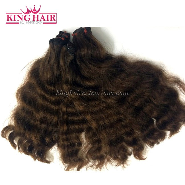 16 inch SUPER DOUBLE VIETNAMESE HAIR WAVY NW1 - King Hair Extensions