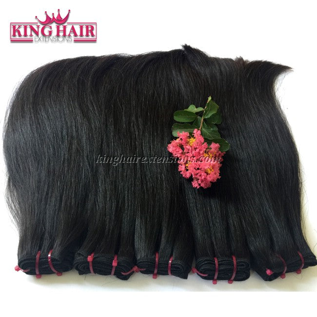 16 inch SUPER DOUBLE VIETNAMESE HAIR STRAIGHT STC3 - King Hair Extensions