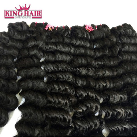 16 inch SUPER DOUBLE VIETNAMESE HAIR WAVY SW4 - King Hair Extensions
