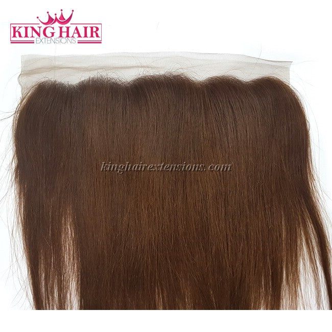 16 inch VIETNAM HAIR STRAIGHT LACE FRONTAL 13X4 - King Hair Extensions