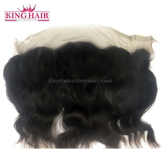 16 inch VIETNAM HAIR LACE FRONTAL WAVY 13X4 NW1 - King Hair Extensions