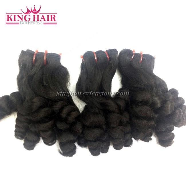 18 inch SUPER DOUBLE VIETNAMESE HAIR FUNMI CURLY SF7 - King Hair Extensions