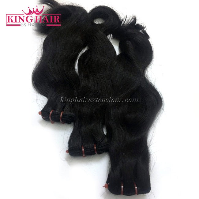 18 inch SUPER DOUBLE VIETNAMESE HAIR WAVY NW1
