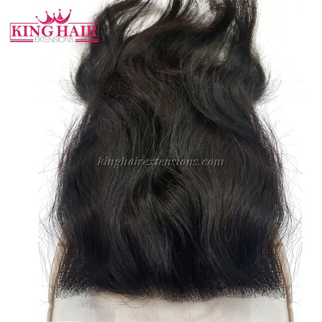 18 inch VIETNAM HAIR NATURAL WAVY LACE CLOSURE 5x5 NW1 - King Hair Extensions